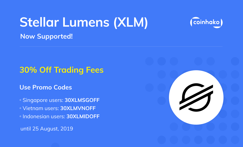 Introducing Stellar Lumens (XLM) on Coinhako!