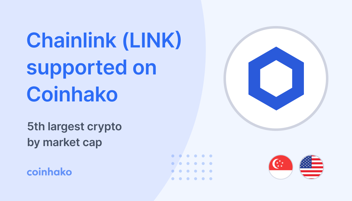Chainlink (LINK) Trading Now LIVE On Coinhako!