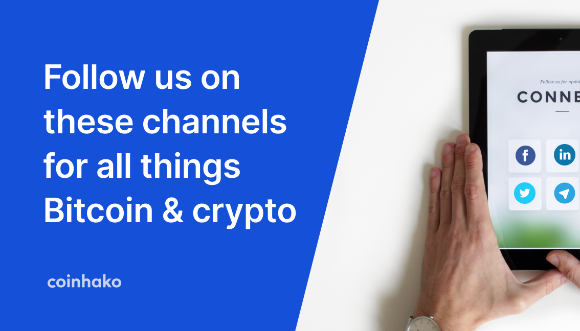 Bitcoin Channels About Crypto You Need To Follow By Coinhako