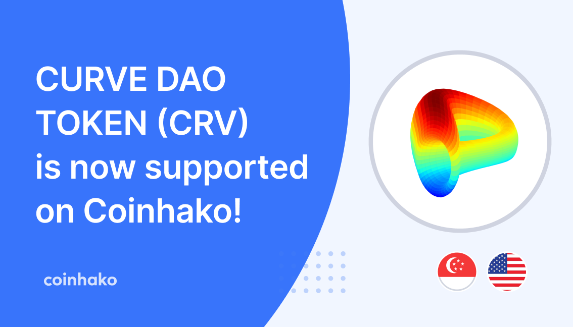 Curve Dao Trading Now Live on Coinhako