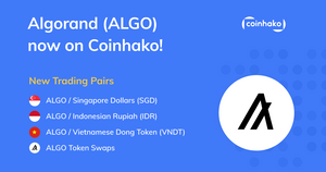 Introducing Algorand (ALGO) on Coinhako!