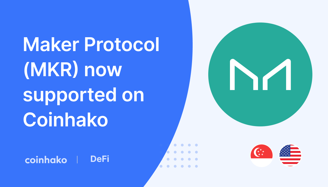 MKR Trading is now live on Coinhako!