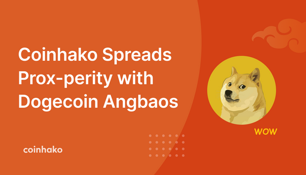 Coinhako Spreads Prox-perity with Dogecoin Angbaos